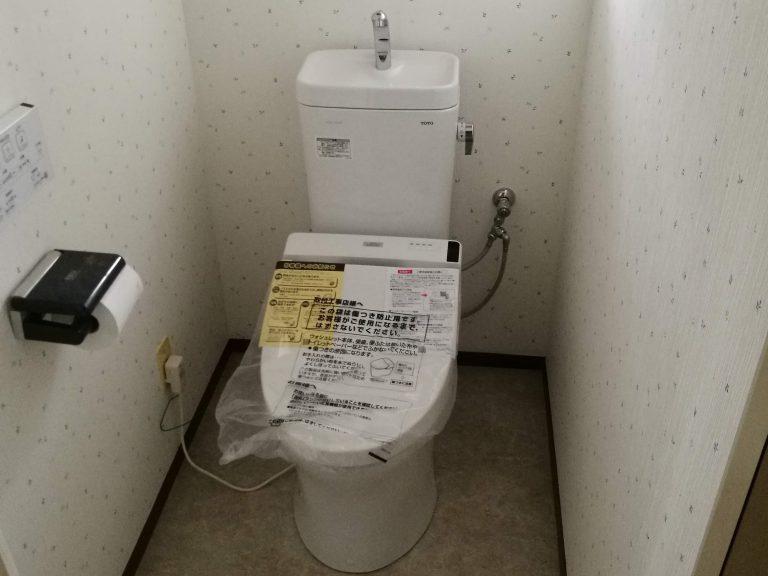 TOTOのトイレへのリフォーム事例/東京都