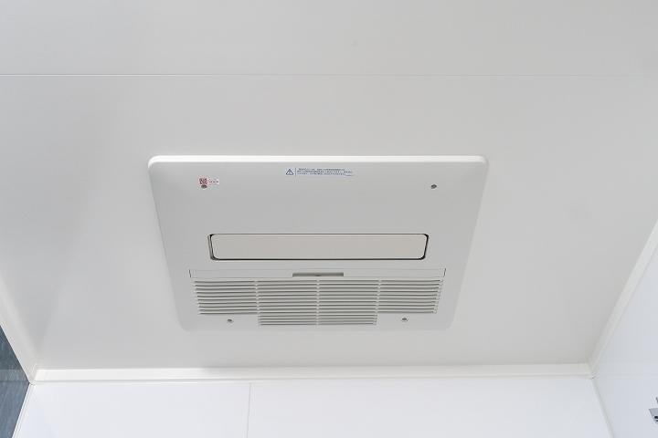 ノーリツ製!ガス式の浴室暖房乾燥機の交換リフォーム事例/京都市中京区