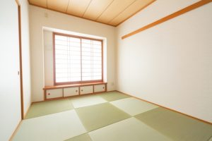 半畳の琉球畳に張り替える和室リフォーム(クロス・襖・障子張替え含む)事例/東京都