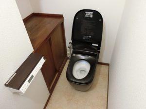 憧れのタンクレストイレ!リクシル「サティスG」へのトイレリフォーム事例