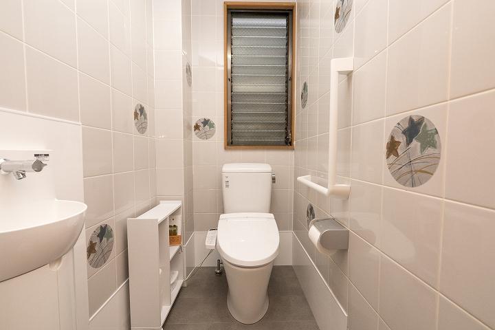 手洗い器付き!和式トイレから洋式トイレへのリフォーム事例/京都市中京区