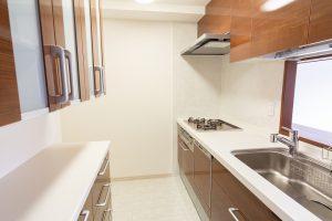 カップボード・食洗機付き!リクシル「シエラ」へのキッチンリフォーム事例