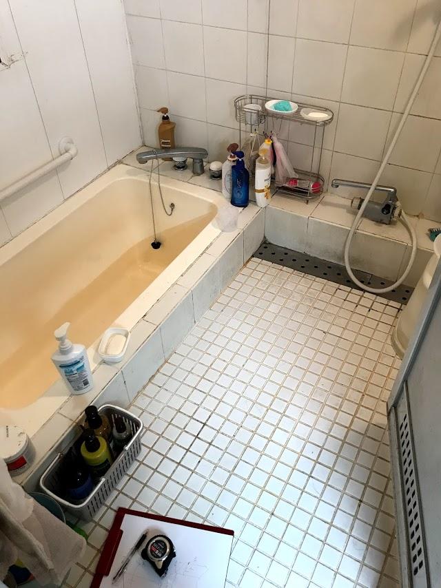 タイル張りの在来浴室からリクシル「アライズ」へのユニットバスリフォーム事例