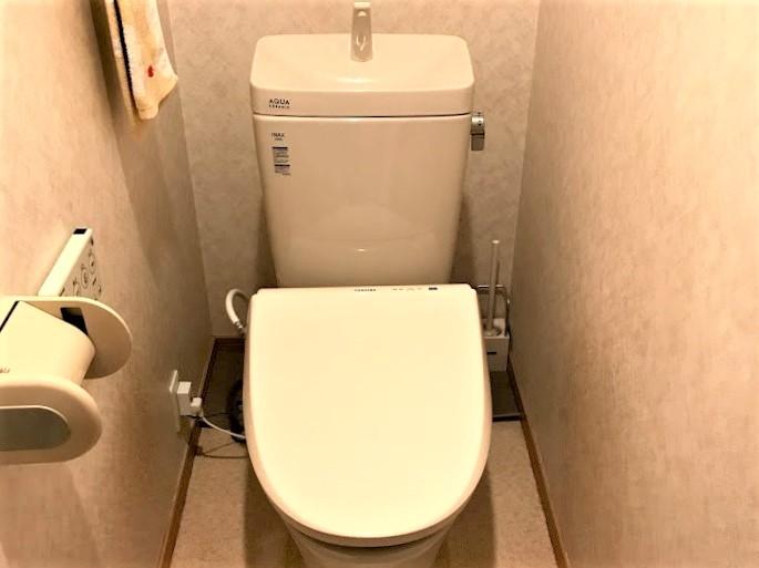 10万円以下!費用を抑えたトイレ交換事例/京都府長岡京市
