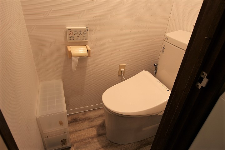 クッションフロアも張替え!格安でのトイレ交換事例/京都市北区