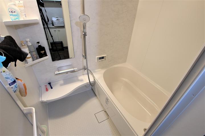 高断熱浴槽で冬でもあったか!リクシルのユニットバス交換事例/京都府亀岡市