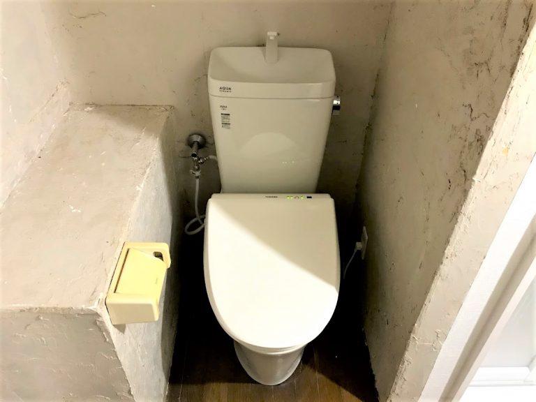 温水洗浄便座用にコンセントも増設!トイレ交換事例/京都府亀岡市