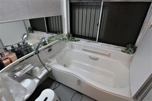 高級ホテルのようなお風呂と洗面所リフォーム事例/京都府向日市