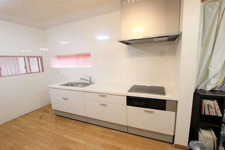 L型からI型キッチン「シエラ」へのリフォーム事例/京都府亀岡市