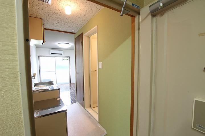 3点ユニットバスをお風呂とトイレに分離するリフォーム/京都市北区