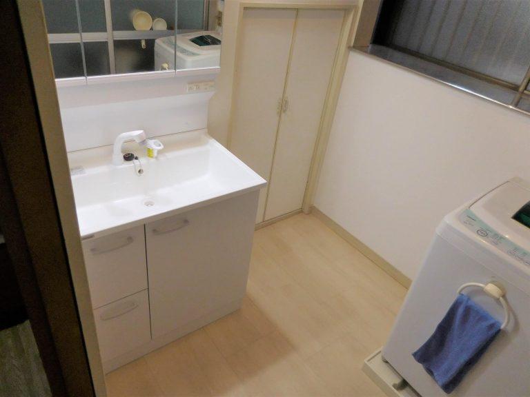 クリナップ「BGAシリーズ」の洗面台への交換事例
