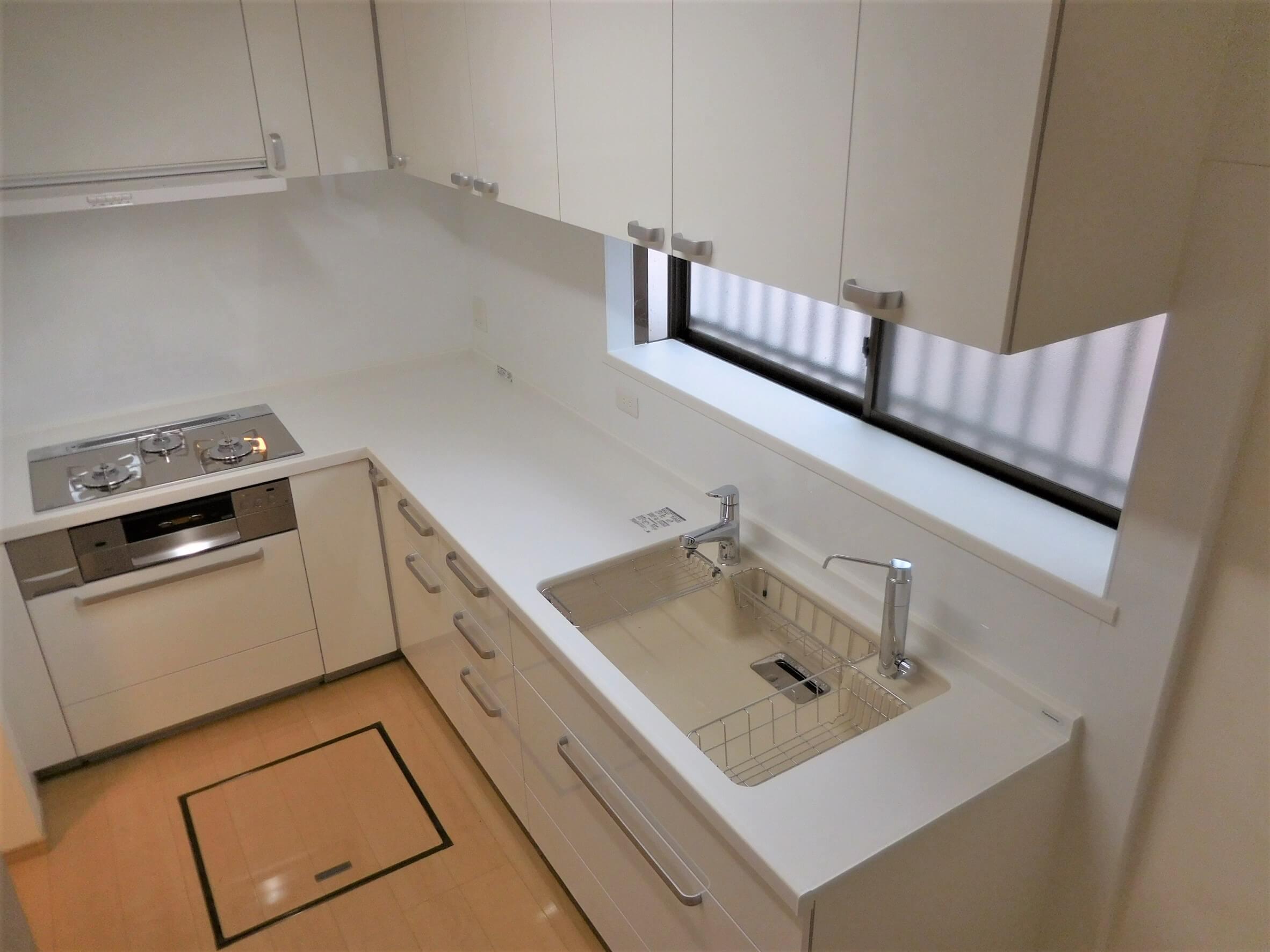 パナソニックのキッチン「リフォムス」への交換事例/千葉県