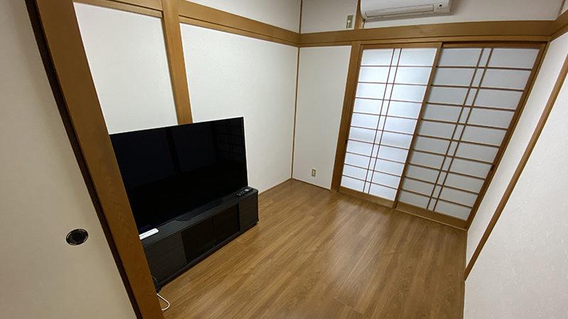 和室2間を和の雰囲気を残して洋室にリフォーム事例/京都市中京区