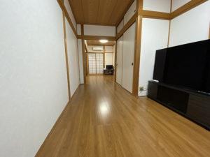 和室は洋室に!予算300万円での水回りリフォーム事例/京都市中京区