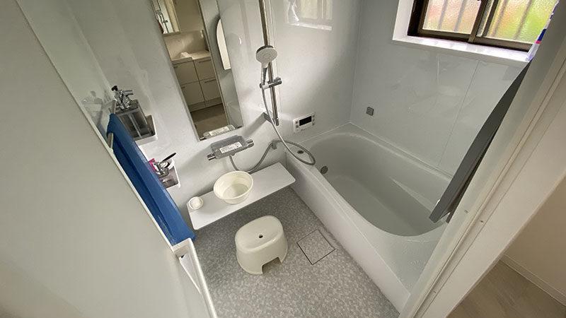 浴室暖房乾燥機を新たに設置!TOTOサザナへユニットバス交換事例/京都市左京区