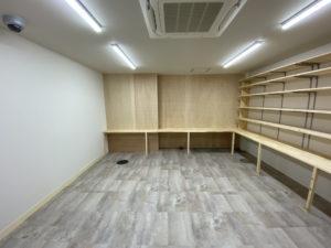サッシ・空調・照明も新しく!事務所リフォーム事例/京都市下京区