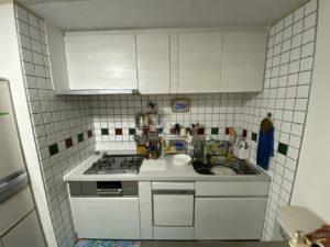 お気に入りのタイルは再利用!食洗機付きキッチンリフォーム/京都市南区