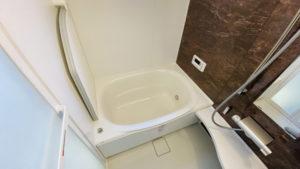 床を補強してワンサイズ大きな浴室へのリフォーム事例/京都市西京区