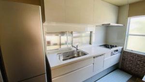 コンロは再利用でお得に食洗機付きキッチンにリフォーム/京都市伏見区