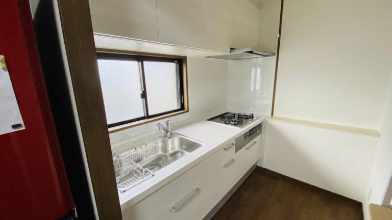 マンションで小さなキッチンの交換事例/京都市上京区