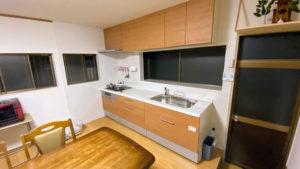 床や壁も下地からやり替え!キッチンリフォーム事例/京都市西京区