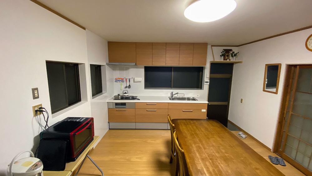 戸建てでオール電化にする400万円リフォーム事例/京都市西京区