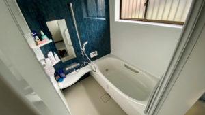 タイルのお風呂を1616サイズのユニットバスにリフォーム事例/京都市北区