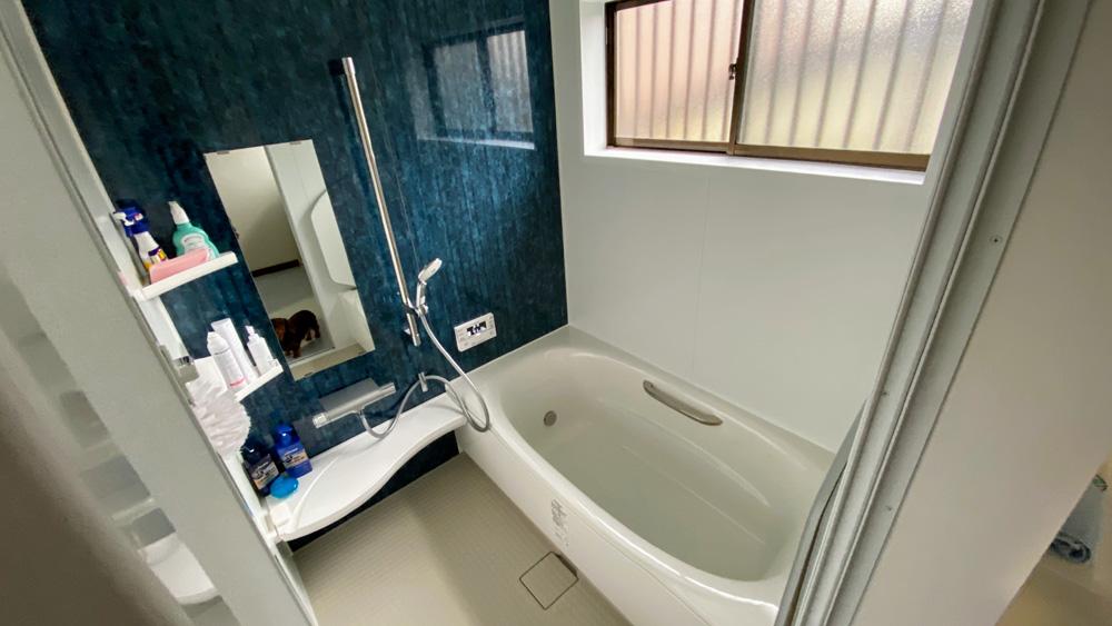 大きな在来浴室をユニットバスに!お風呂・洗面所リフォーム/京都市北区