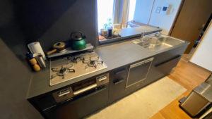 憧れのセラミックのオープンキッチンにリフォーム/京都市上京区