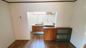 床やクロスも一新!キッチンリフォーム事例/京都市左京区