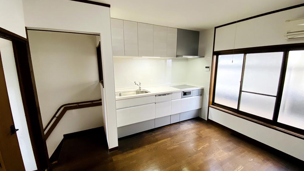 高機能のIHや食洗機を新設!キッチンリフォーム事例/京都市西京区