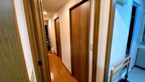 介護保険を活用!開き戸から引き戸へのバリアフリーリフォーム/京都市左京区