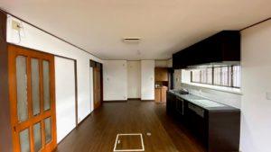 対面から壁付キッチンに移動したリフォーム事例/京都市伏見区