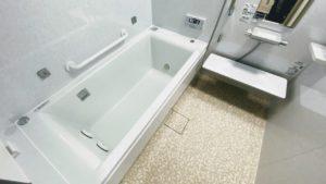 タイルのお風呂をユニットバスに!電気温水器も交換した事例/京都市左京区