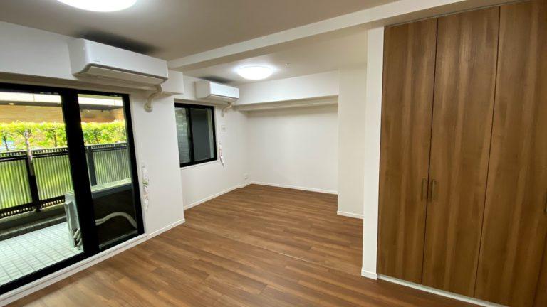壁を撤去して2部屋を1部屋にしたリフォーム事例/京都市左京区